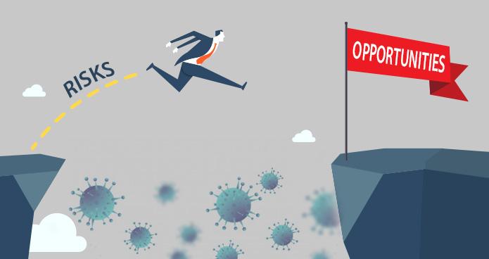 Coronavirus: Risks vs. Opportunities | Capsitech IT Services